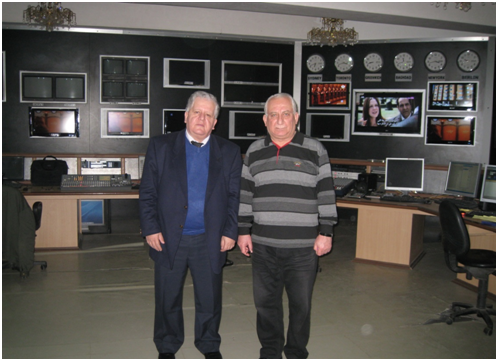 Ռազմիկ Մուրադյանի հետ