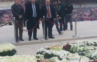 زار وفد من الهيئة التنفيذية لحزب الرامغافار في لبنان ضريح الرئيس الشهيد رفيق الحريري