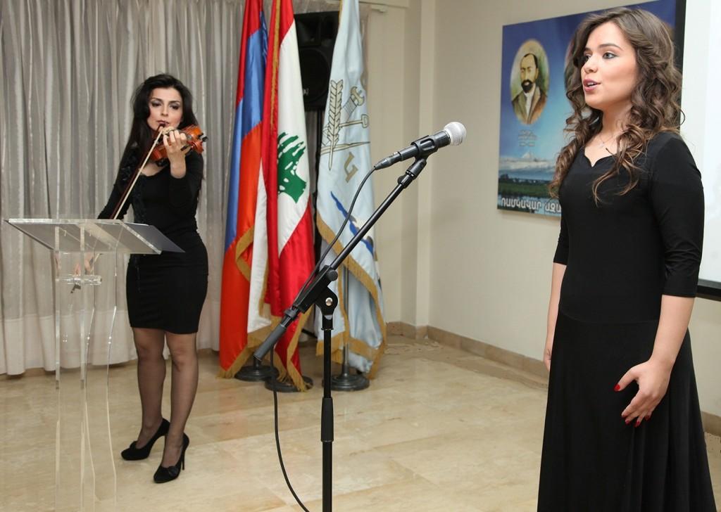 ջութակահարուհի Լիւսի Չամսարեան ու երգչուհի Դալար Սիմոնեան