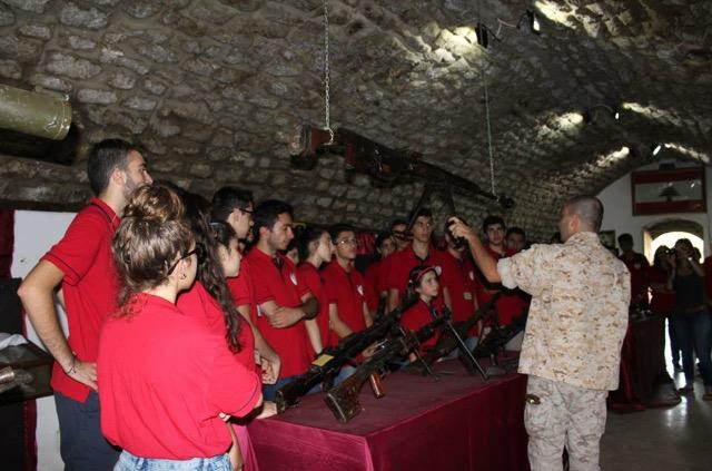 Բանակի Զօրանոցին Մէջ