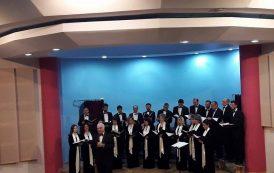 Ստեփանակերտի Մէջ Համերգով Հանդէս Եկաւ Երեւանի Պետական Քամերային Երգչախումբը