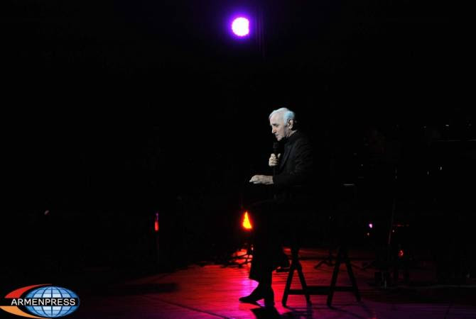 charles aznavour tour 2018