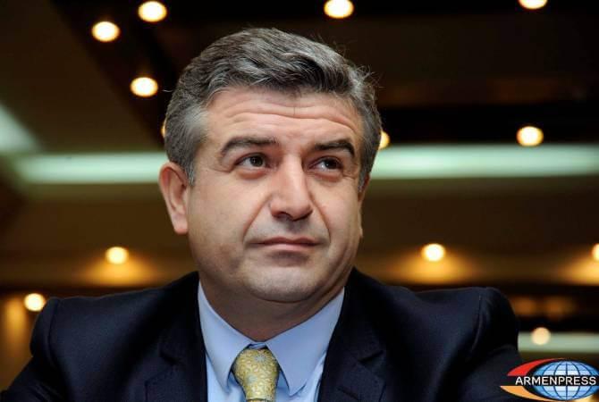 Prime Minister Karen Karapetyan