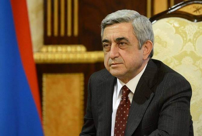 President Serzh Sargsyan