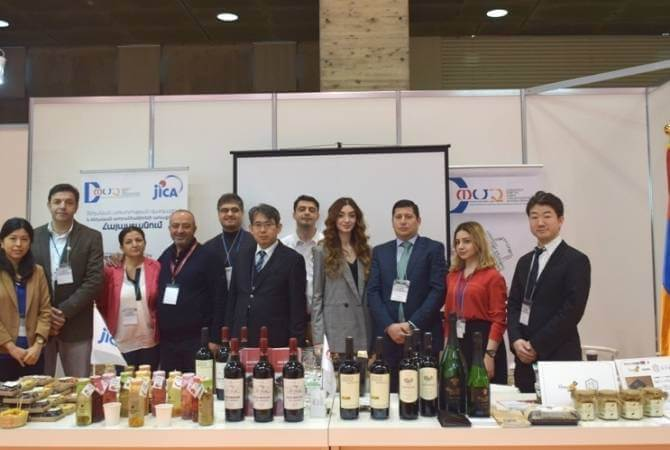 armenian producers foodfex japan