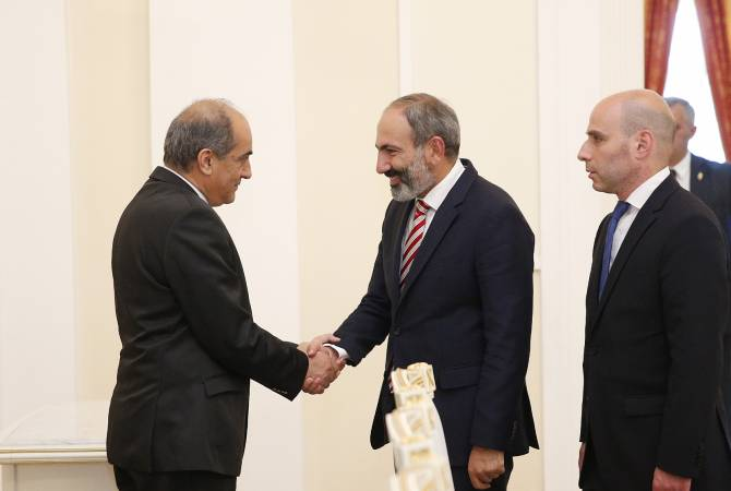 Pashinayan Meets Syllouris
