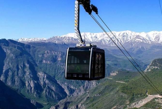 Stepanakert Shushi Ropeway
