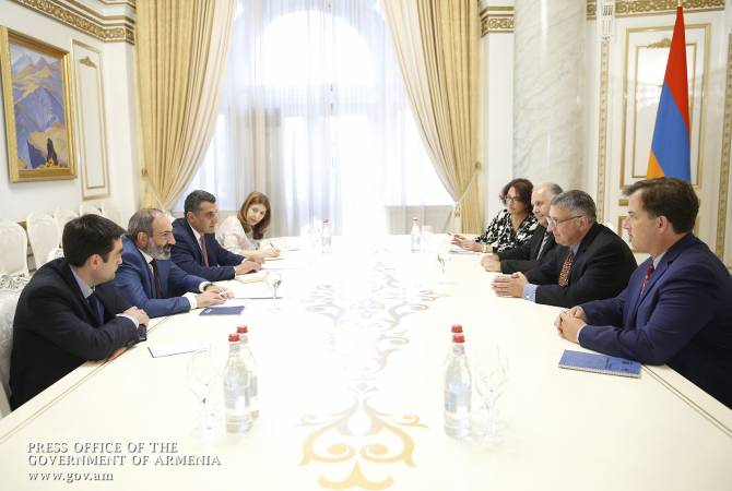 Pashinyan meets with the Armenian Assembly of America delegates