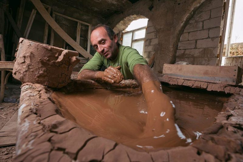 Armenian ceramics sisian clay