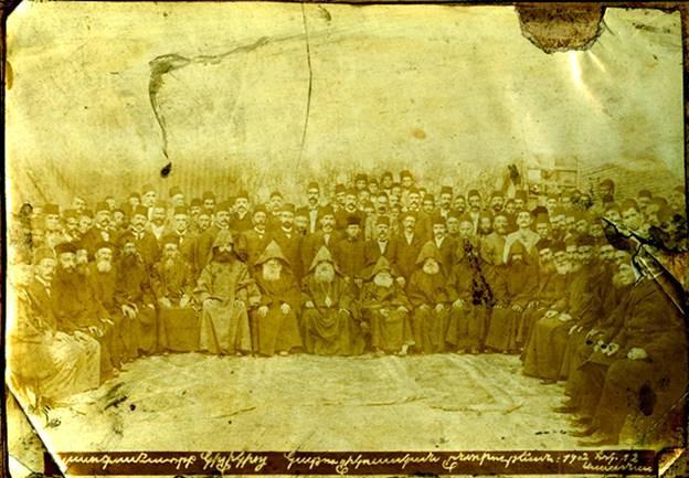 Պատգամաւորական ժողովը, որ ընտրեց Կիլիկիոյ Գահուն համար Տ.Տ. Սահակ Բ. Խապայեան Կաթողիկոսը