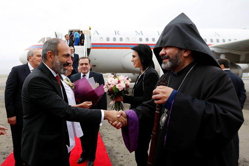Pashinyan In Georgia